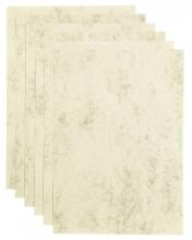 , Kopieerpapier Papicolor A4 90gr 12vel marble ivoor