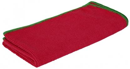 , Microvezeldoek Greenspeed Basic rood 10stuks