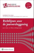 , Richtlijnen voor de Jaarverslaggeving voor micro- en kleine rechtspersonen 2019