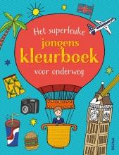 , Het superleuke jongenskleurboek voor onderweg