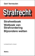 Gert  Vermeulen Strafwetboek, wetboek van strafvordering, bijzondere wetten (BE)