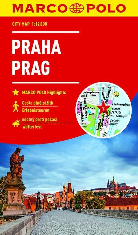,MARCO POLO Cityplan Prag 1:12 000