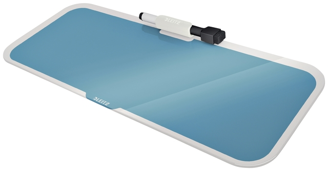,Glas Desktop Pad Leitz Cosy blauw