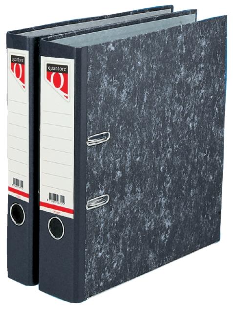 ,Ordner Quantore A4 80mm karton gewolkt