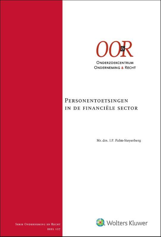 I.P. Palm-Steyerberg,Personentoetsingen in de financiële sector