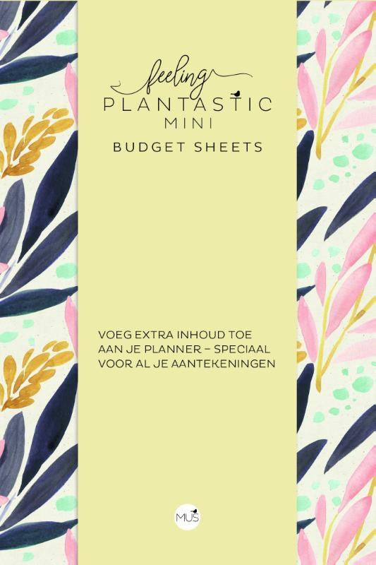 ,Budget sheets MINI - Feeling Plantastic