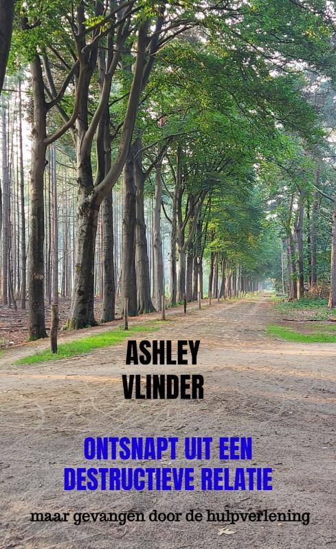 Ashley Vlinder,Ontsnapt uit een destructieve relatie