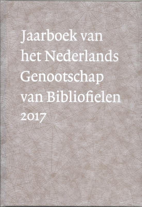 Gerard Jaspers,Jaarboek Nederlands Genootschap van Bibliofielen 2017