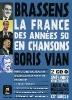Tohmé, Youmna,Brassens, Boris Vian. . Buch + 2 Audio-CDs