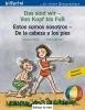 Böse, Susanne,Das sind wir - Von Kopf bis Fuß. Kinderbuch Deutsch-Spanisch