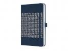 ,notitieboek Sigel Jolie Impress A5 hardcover gelinieerd     `Midnight Blue`