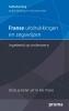 Abeling,Franse uitdrukkingen en zegswijzen ingedeeld op onderwerp