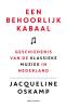 <b>Jacqueline  Oskamp</b>,Een behoorlijk kabaal