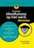 Shamash  Alidina,De kleine Mindfulness op het werk voor Dummies