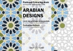 Pepin van  Roojen ,Arabian Designs - Postcard Colouring Book