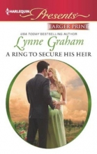 Graham, Lynne Ring To Secure His Heir