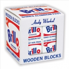 Galison Andy Warhol Brillo Wooden Blocks