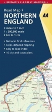 , Road Map Britain 07 Northern England 1 : 200 000