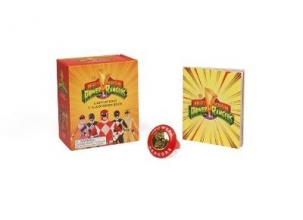 Mighty Morphin Power Rangers Light-Up Ring and Illustrated B