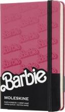 , Moleskine LE Notitieboek Barbie Pocket (9x14 cm) Gelinieerd Logo