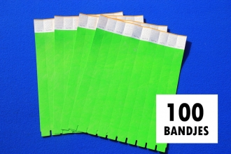 , Polsband Combicraft Tyvek groen