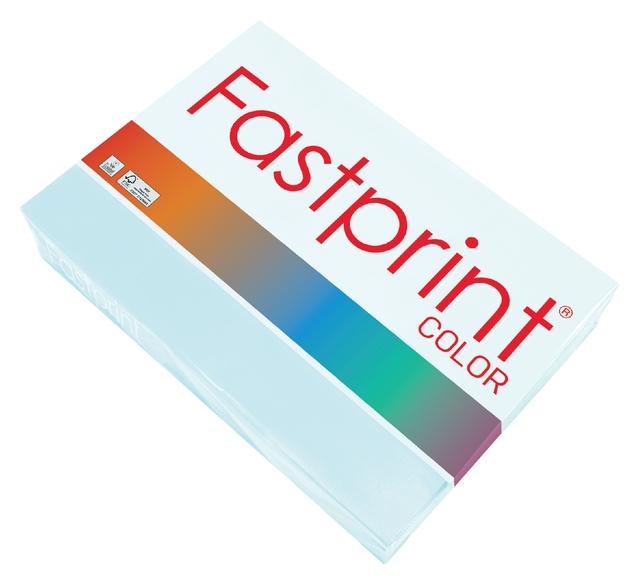 ,Kopieerpapier Fastprint A4 80gr lichtblauw 500vel