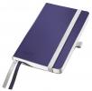 ,<b>Notitieboek Leitz Style zachte kaft A6 lijn titaniumblauw</b>