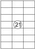, Etiket Quantore 70x42.4mm 2100stuks