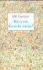 J.M.Coetzee, Wat is een klassieke roman?