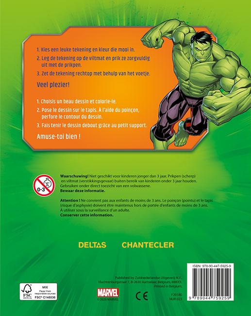 ,Avengers prikblok Avengers bloc à perforer