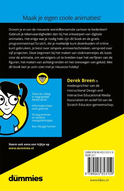 Derek Breen,Computeranimaties maken voor kids