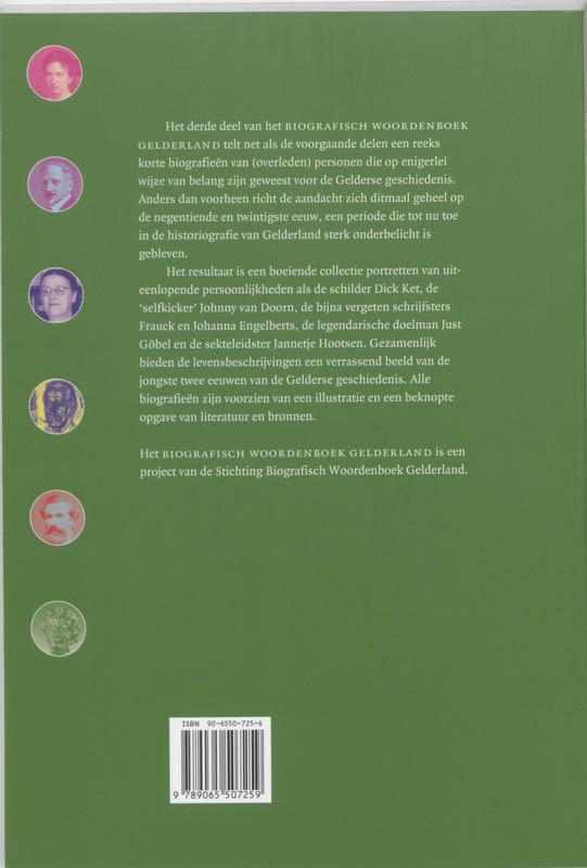 ,Biografisch Woordenboek Gelderland 3