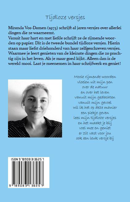 Miranda Vos-Damen,Tijdloze versjes