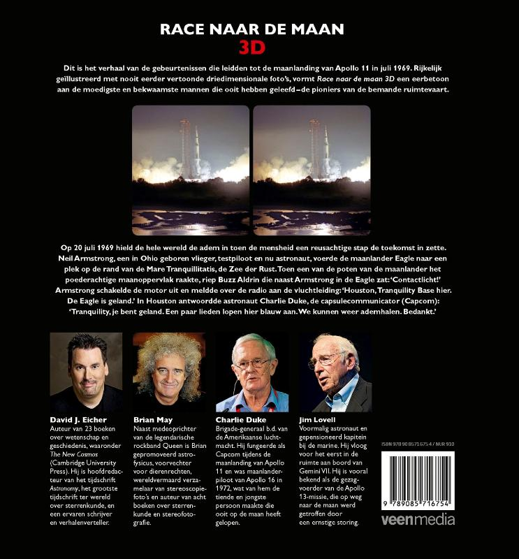 David J. Eicher,Race naar de Maan 3D
