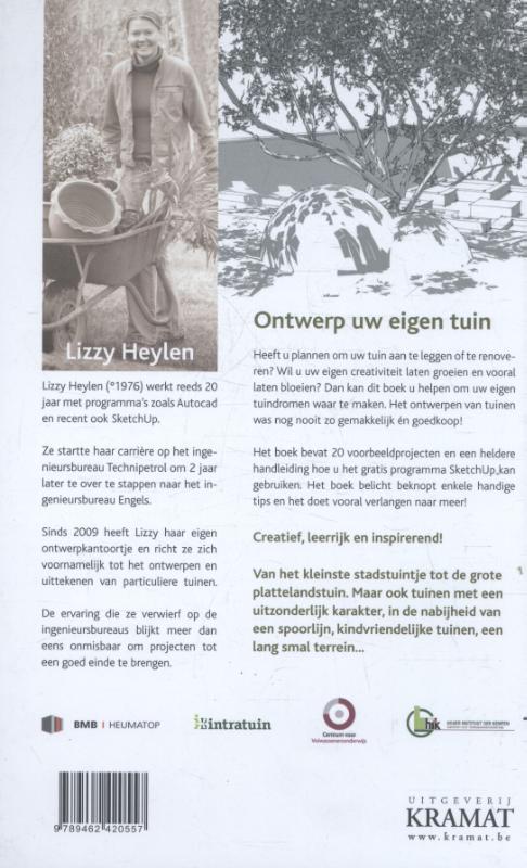 Lizzy Heylen,20 x een tuinontwerp
