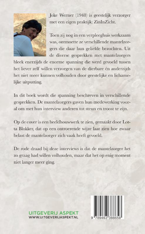 Joke Werner-van Slooten,Als de mantel niet meer past...