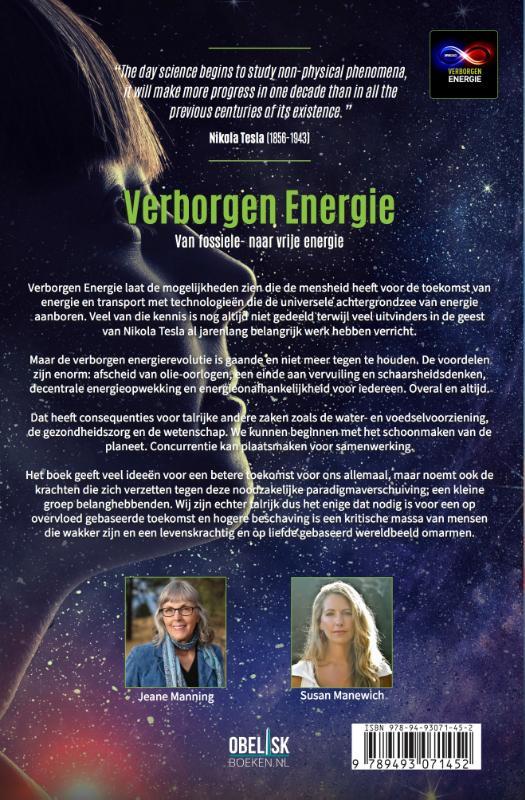 Jeanne Manning, Susan Manewich,Verborgen Energie
