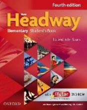 Soars, John,   Soars, Liz Soars, J: New Headway Elem./Student`s B./Wordlist + DVD-ROM
