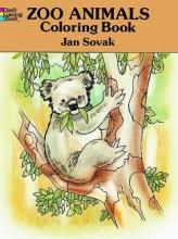 Jan Sovak Zoo Animals Colouring Book