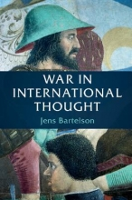 Bartelson, Jens War in International Thought