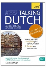 Marleen Owen Keep Talking Dutch Audio Course - Ten Days to Confidence
