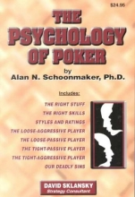 Schoonmaker, Alan N. The Psychology of Poker