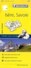 Isere, Savoie - Michelin Local Map 333
