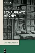 Kastberger, Klaus,   Maurer, Stefan,   Neuhuber, Christian Schauplatz Archiv