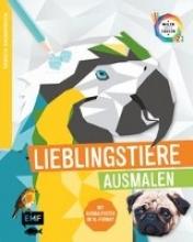 Edition Michael Fischer Tierisch geometrisch - Malen nach Zahlen: Lieblingstiere ausmalen