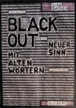 Bathen, Dirk Blackout-Poems