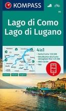 , Lago di Como, Lago di Lugano 1:50 000