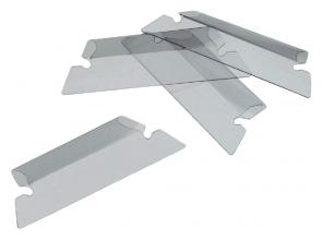 , Ruiters voor Euroflex hangmappen 50mm transparant