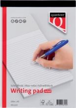 , Schrijfblok Quantore A5 gelinieerd