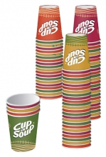 , Beker Cup-a-soup karton 1000 stuks (20 rol van 50 stuks)